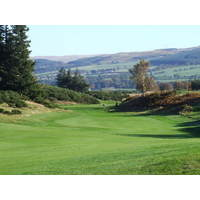 The King's golf course at Scotland's Gleneagles resort features heavy bunkering and a challenging layout.