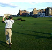 The 18th at the Old Course is named for Old Tom Morris, who designed the green.