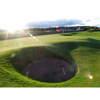 The Road Hole bunker on the 17th may be St. Andrews' most famous spot of sand.
