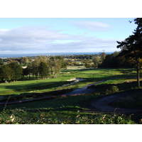 The view from the Duke's Course takes in the town of St. Andrews and beyond to the sea.