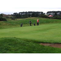 British Open venue Carnoustie, Scotland
