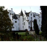 Blair Castle in Perth and Kinross is said to date from the 13th century.