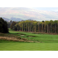 The eighth hole at The Carrick, due to open in 2007 on Loch Lomond, offers a stunning southern Highlands backdrop.