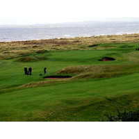 Royal Dornoch in the Highlands ranks among Scotland's best links courses.