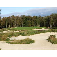 More than 100 new and redesigned bunkers have given the Duke's Course in St. Andrews a more rugged look.