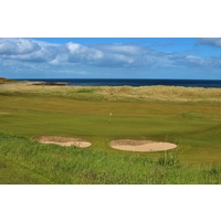 The 422-yard fourth hole is one of the toughest par 4s on the Championship Course at Royal Dornoch Golf Club.