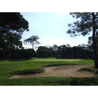 The first green at Estoril Golf Club.