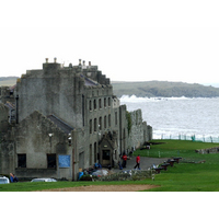 Ardglass' clubhouse is in a 13th-century castle.