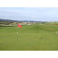 Castlerock's Mussenden course plays on links land along the railway.