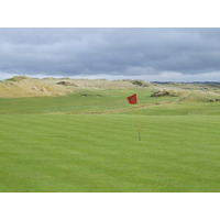 Enniscrone's original original holes play on flatter links land.