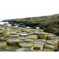 The Giant's Causeway in Northern Ireland is one of the island's most spectacular natural wonders.