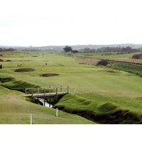 "The par-3 fourth at Castlerock Golf Club in Northern Ireland is known as ""Leg o' Mutton."""