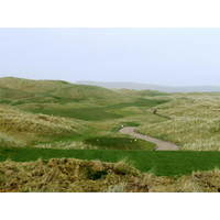 Visibility from the tee is better on the Glashedy Links than at its sister Old Links.